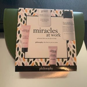 Philosophy -miracles at work - 5 Piece Set